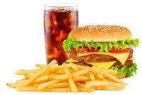¿Cuántas calorías contiene la comida rápida?