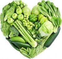 Verduras verdes y su fuerza inestimable.